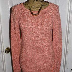 Peach Sweater-NWT